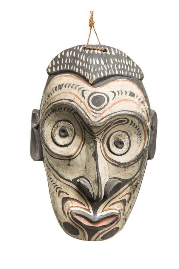 Maska-Trofeum Głowy, lata 80.-90. XX w., SEPIK ŚRODKOWY, Papua-Nowa Gwinea