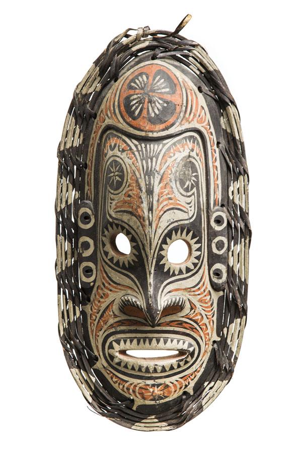 Maska przodka, lata 90. XX w., SEPIK ŚRODKOWY, Papua-Nowa Gwinea