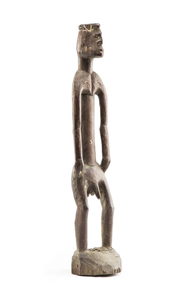 Figura przodka KAWE, lata 70. XX w., PLEMIĘ ASMAT, OCEANEP - MERAUKE, Papua-Nowa Gwinea
