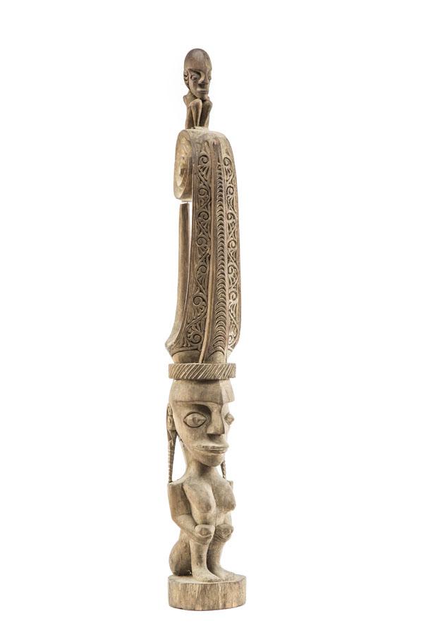 Figura przodka, lata 60. XX w., PLEMIĘ BATAK, SUMATRA PÓŁNOCNA, Indonezja
