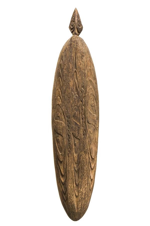 Rzeźbiony półmisek Sago EBE, 2 poł. XX w., BOBORONGKO, Papua-Nowa Gwinea
