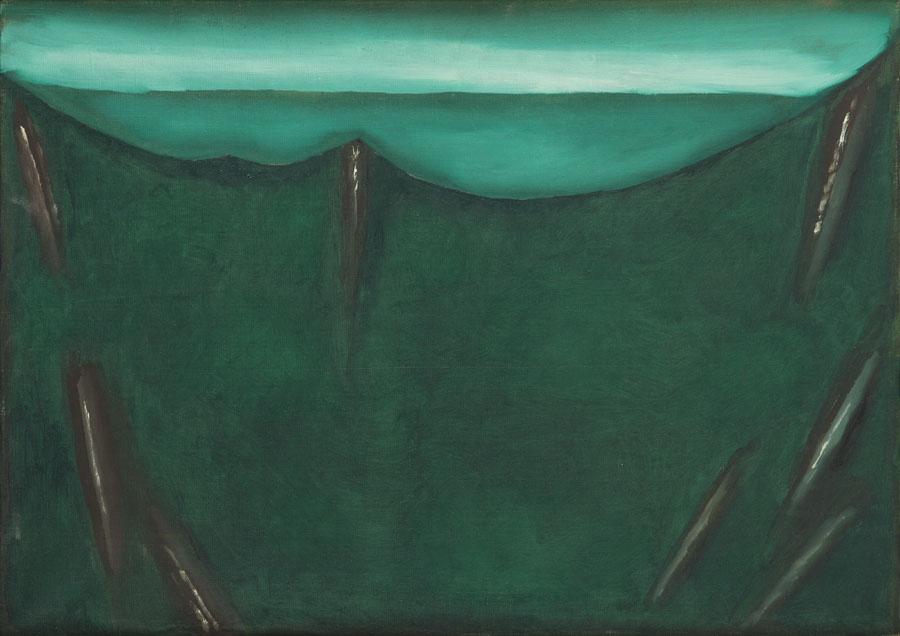 Pejzaż zielony I, 1985 r.