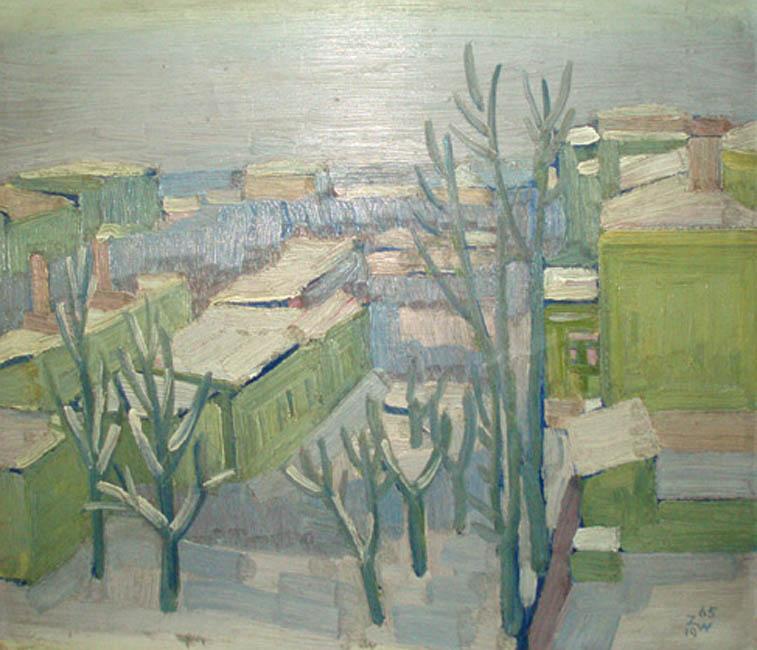 Widok Górczyna, 1965