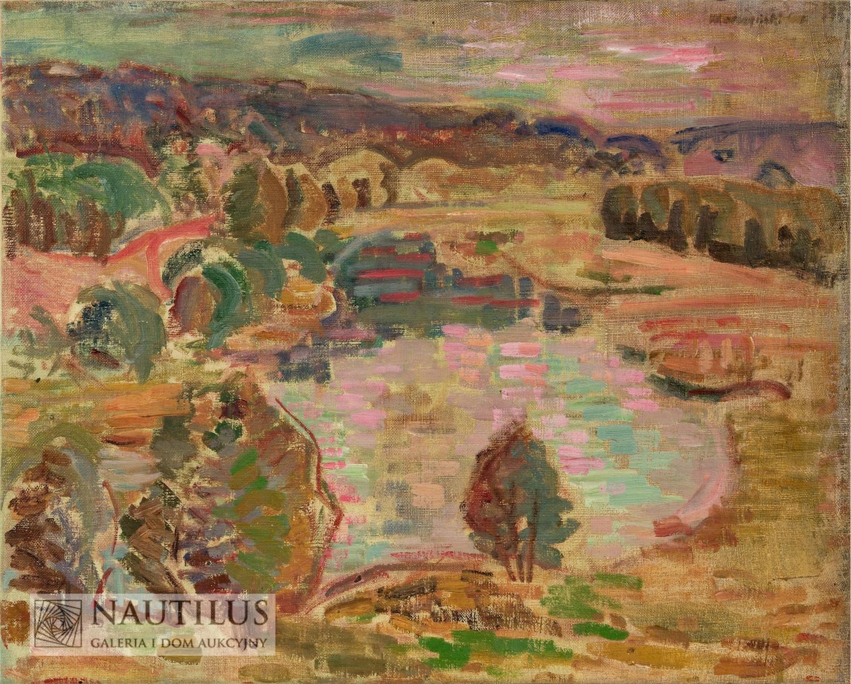 Pejzaż z Pienin, 1948