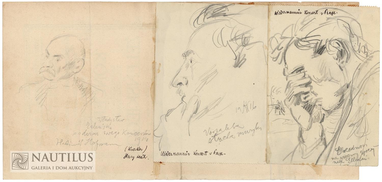 Zestaw portretów, 1914-1916