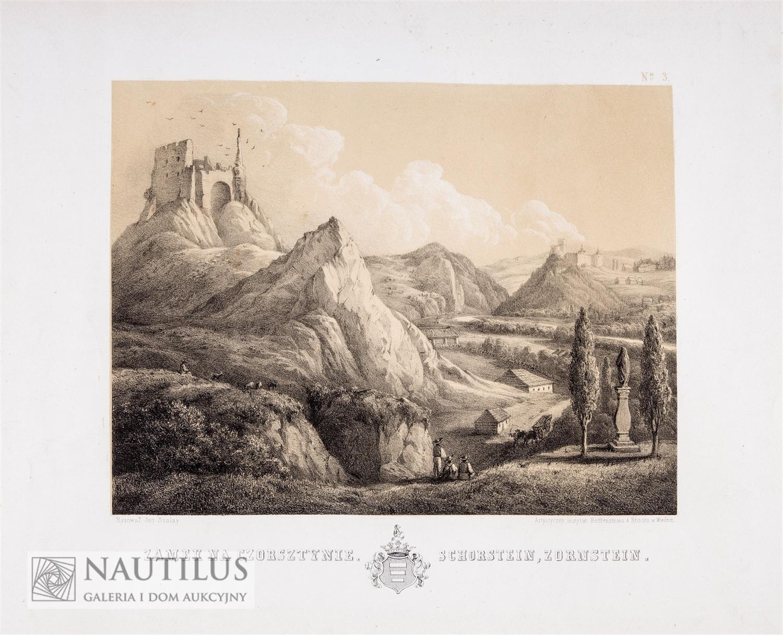 Zamek w Czorsztynie, 1858