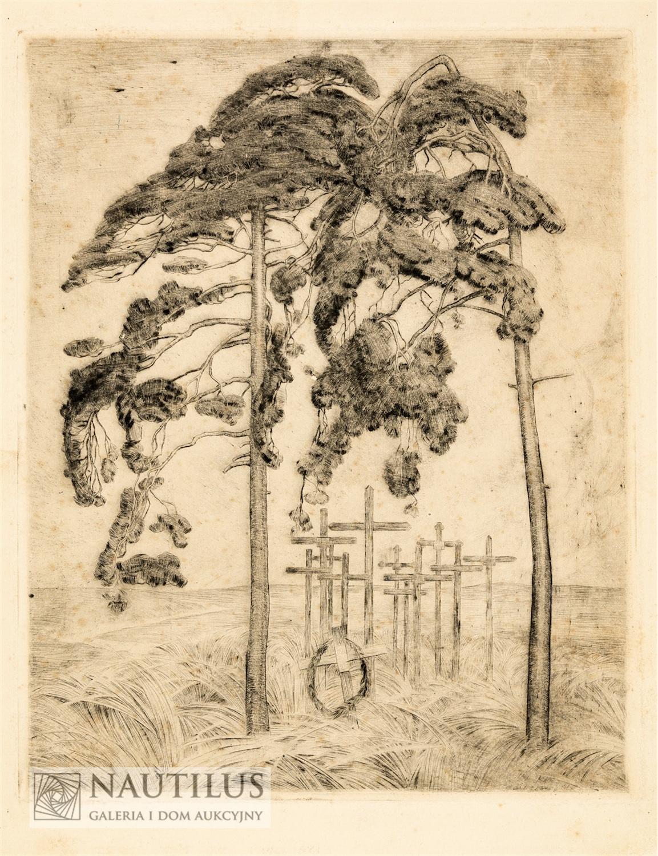 Cmentarzyk wojenny, 1923