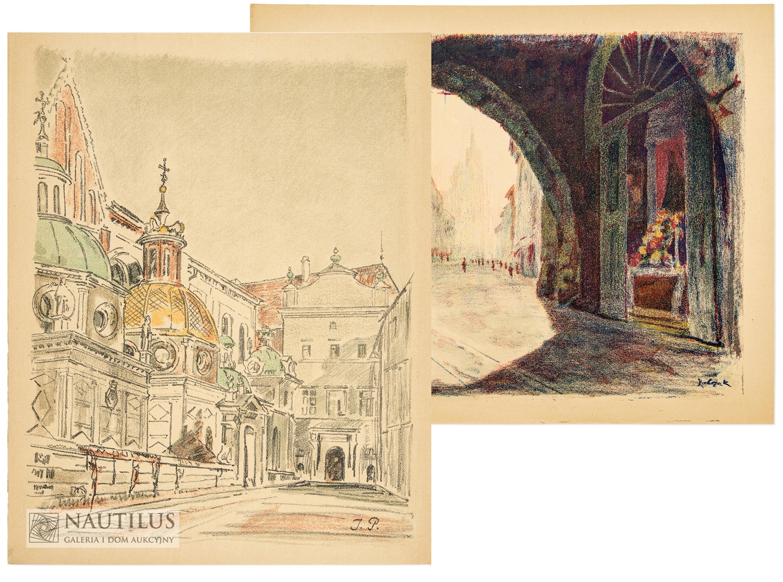 Teka Kraków. Sześć autolitografii, 1928
