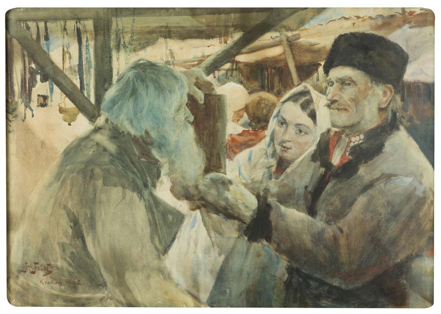 Sprzedawca ikon, 1882 r.