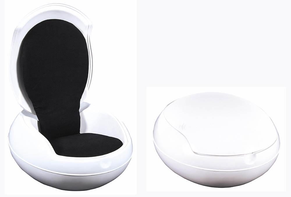 Krzesło ogrodowe - Jajo, projekt: 1968