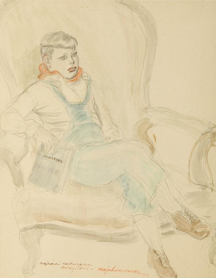 Mojemu Kochanemu Krzysiowi, 1956 r.