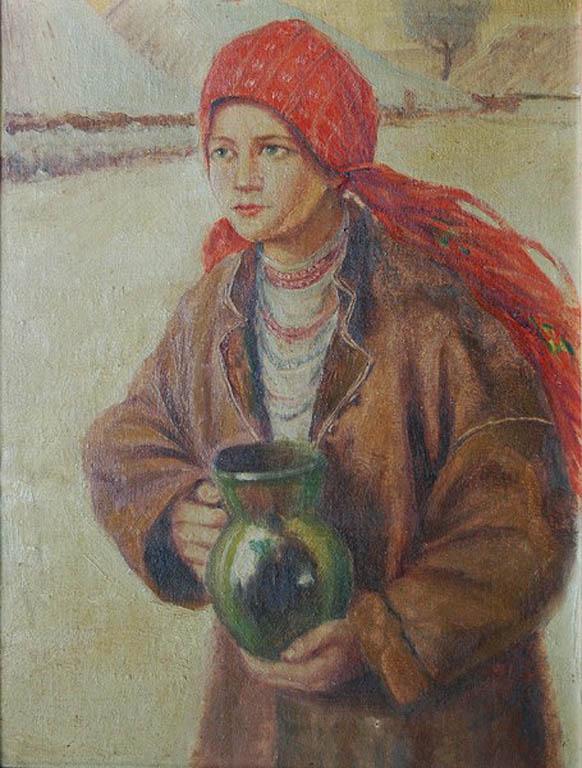 Dziewczyna z dzbanem (wg T. Axentowicza)
