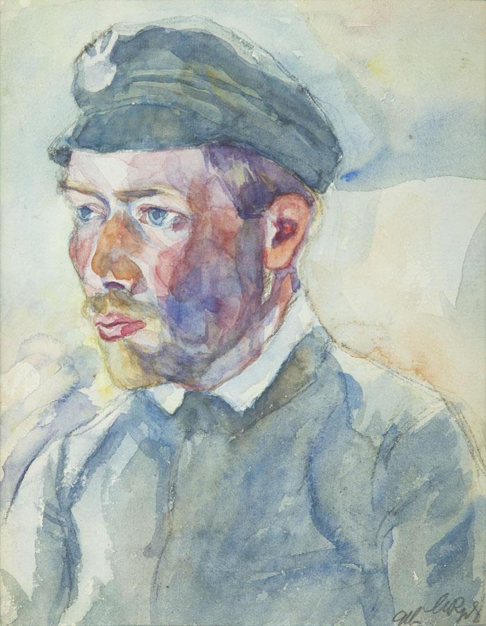 Portret Mariana Dąbrowskiego, 1916 r.