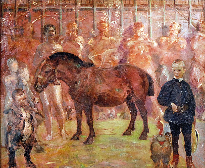 Pegaz - Portret Rafała Malczewskiego, ok. 1902