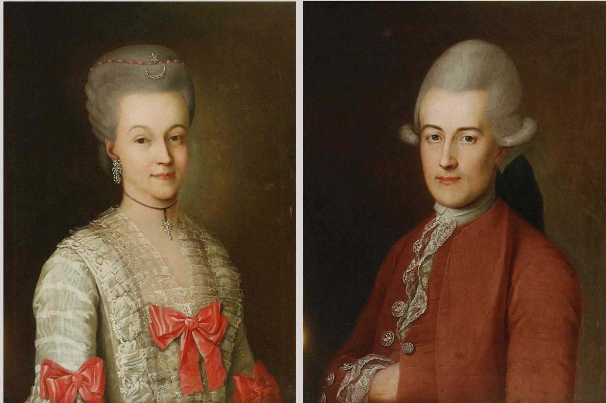 Para portretów ślubnych