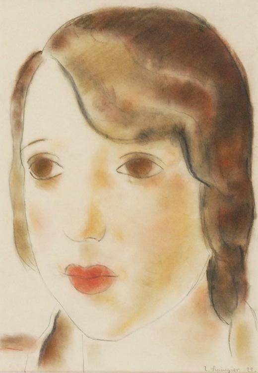 Głowa dziewczyny, 1929
