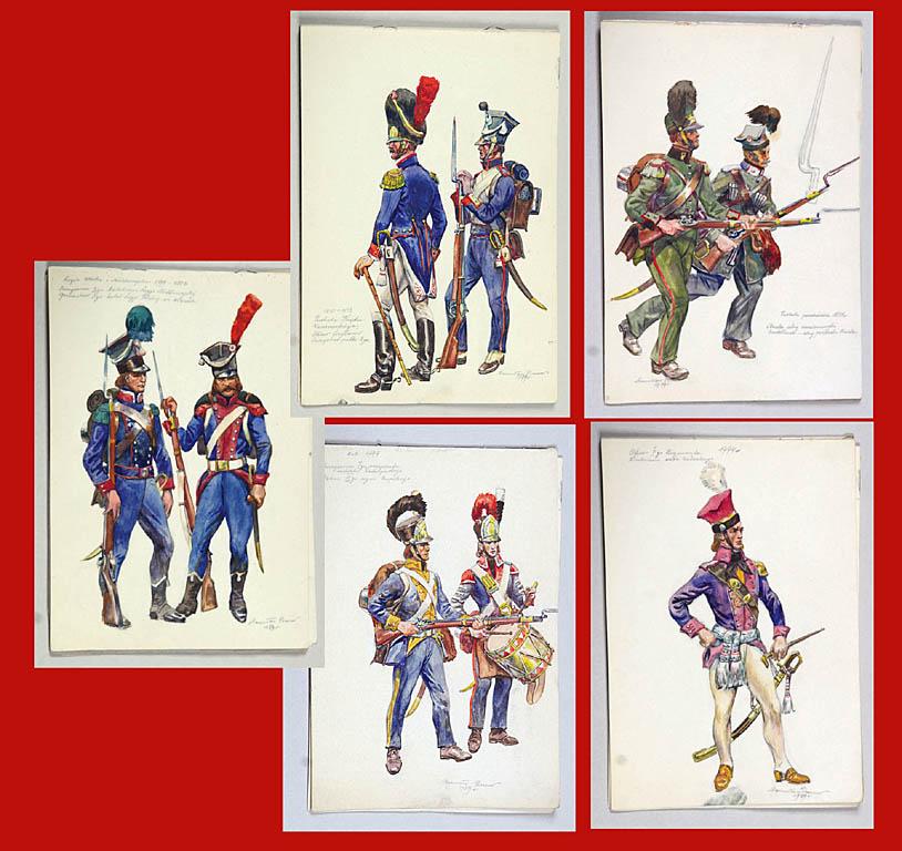 Kostiumologia. Mundury piechoty polskiej