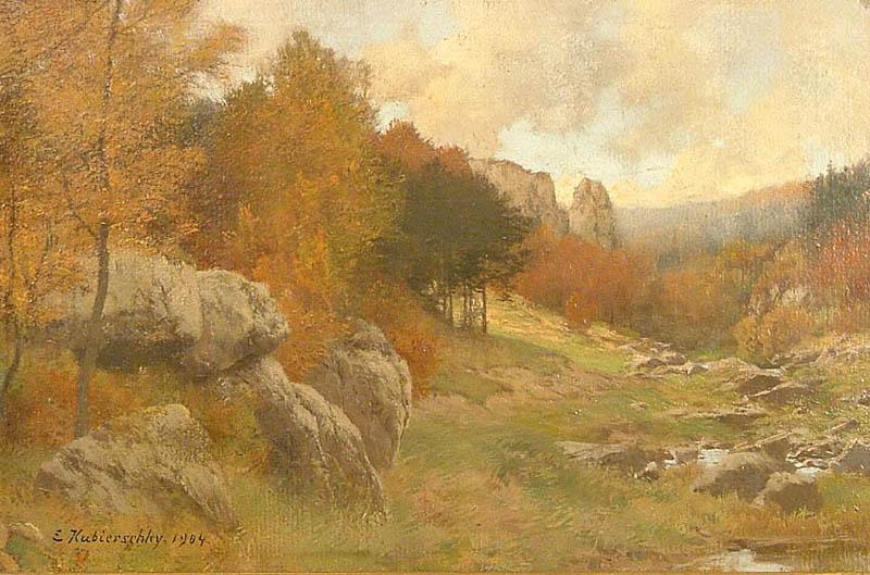 Jesienny pejzaż z Ardenów, 1904
