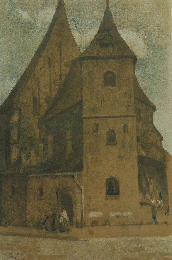 Kościół św. Marka, 1911