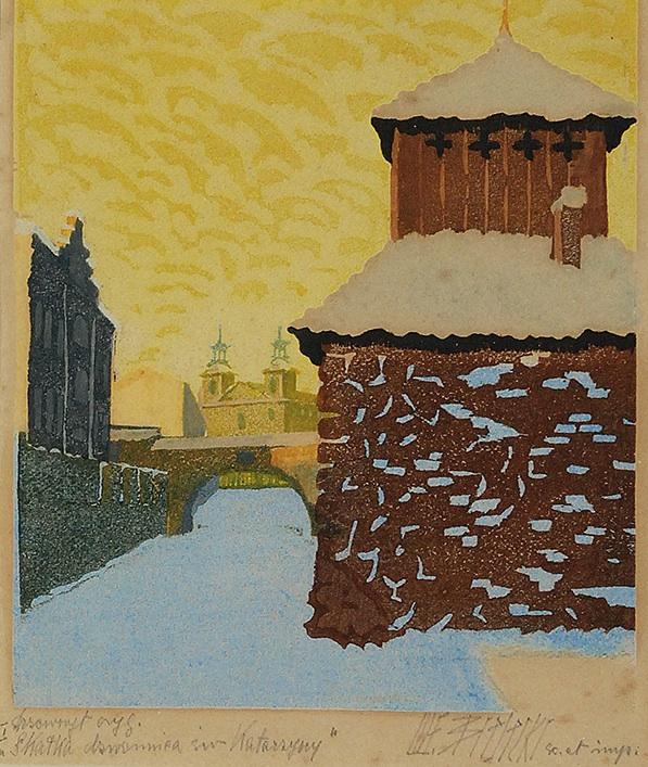 Skałka - dzwonnica św. Katarzyny