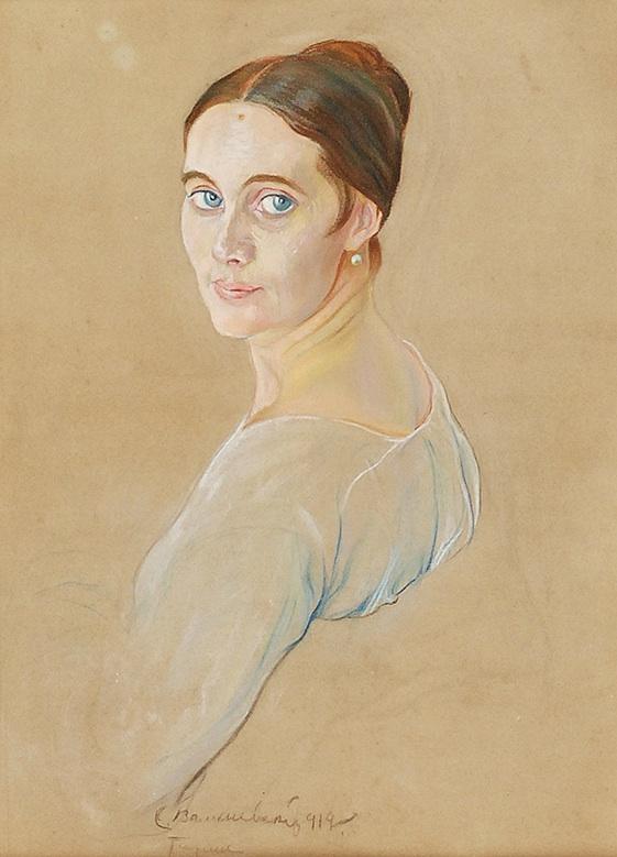 Portret młodej kobiety, 1919