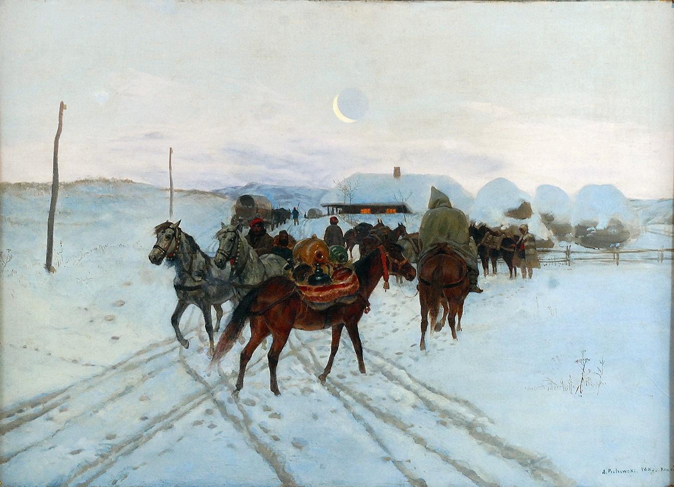 Postój, 1887