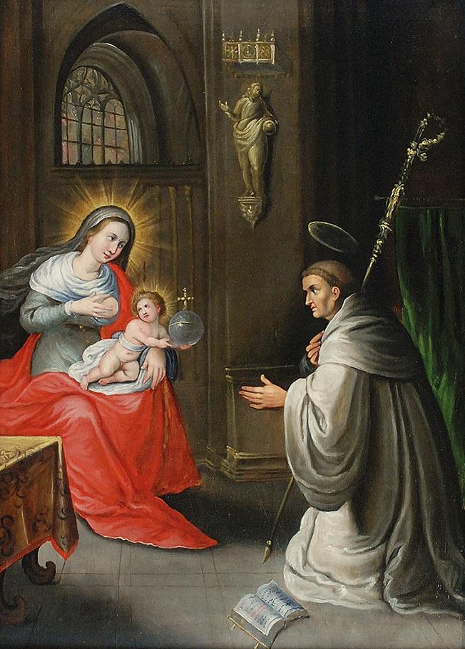 Wizja św. Bernarda z Clairevaux, 1615-1620
