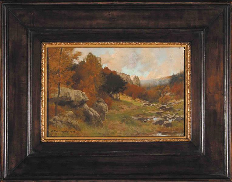 Pejzaż jesienny, 1904 r.