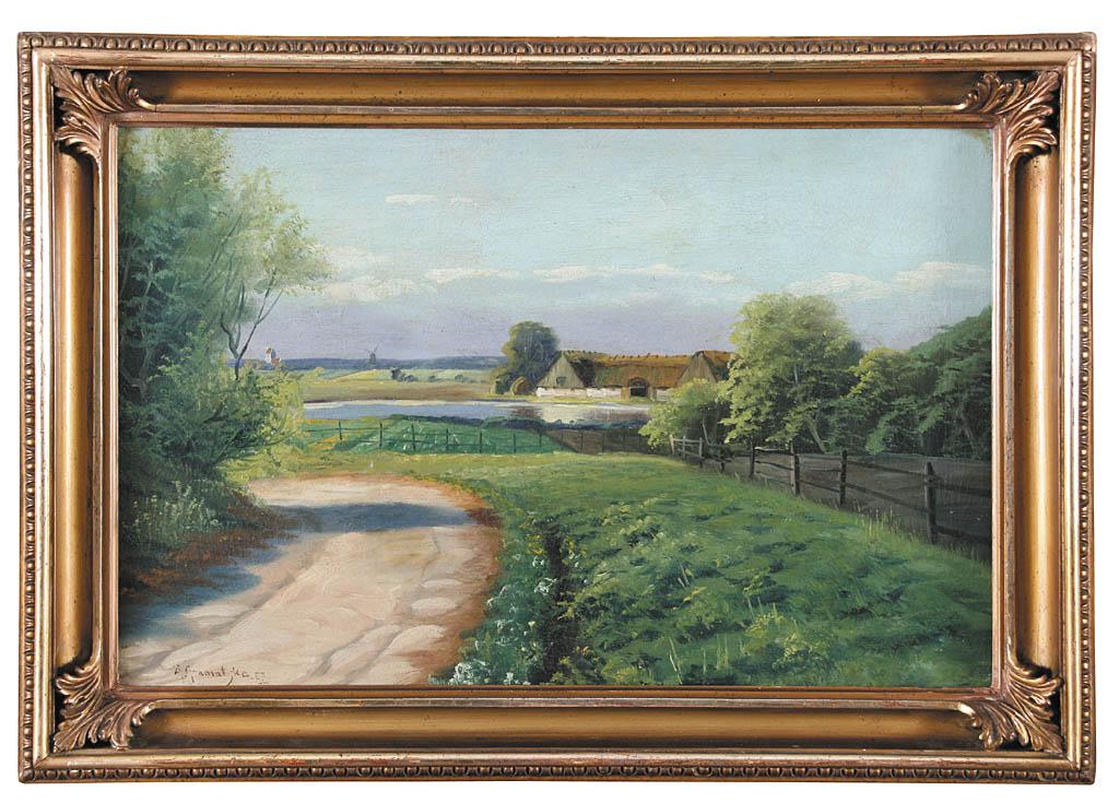 Pejzaż letni, 1867 r.