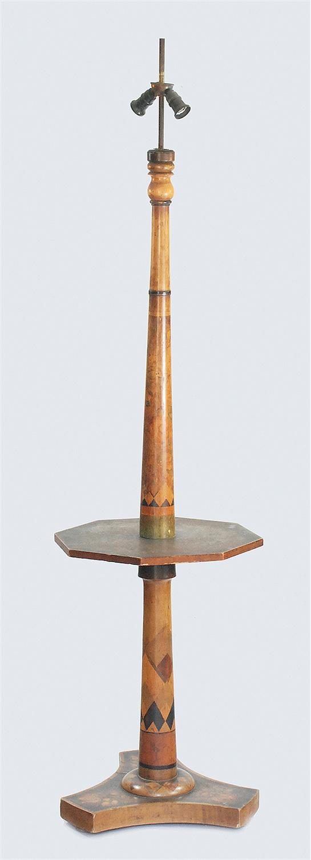 Lampa stojąca w stylu art déco