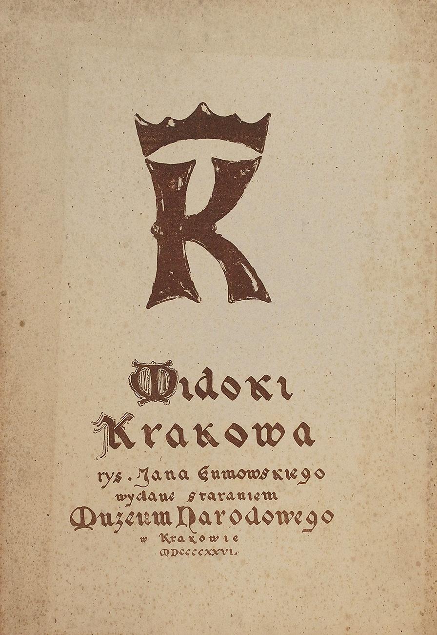 Teka - Widoki Krakowa, 1926