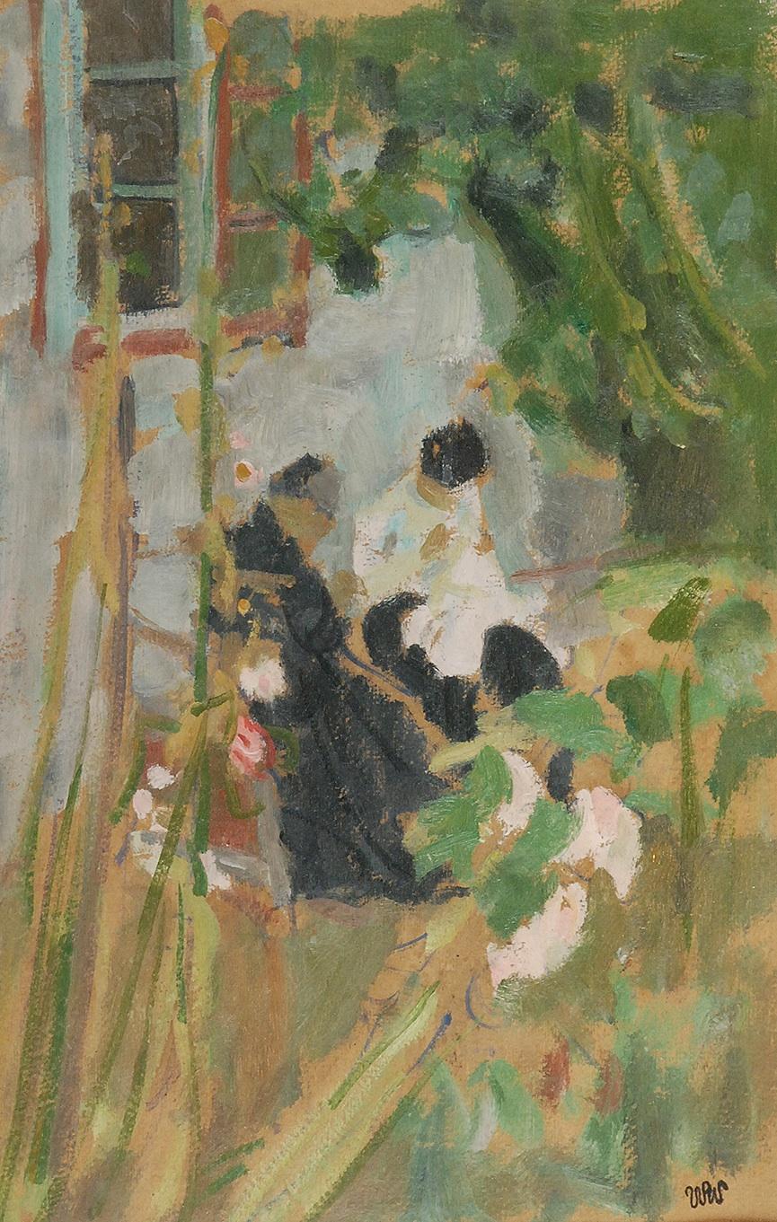 Przed domem w Kalwarii, 1906