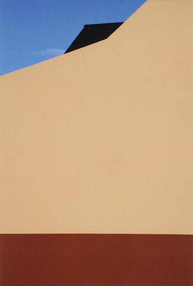Kompozycja I z cyklu Miasto Kolorów II, 2008