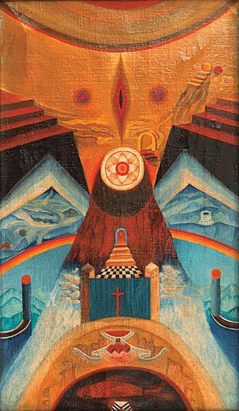 Kompozycja metafizyczna, 1970