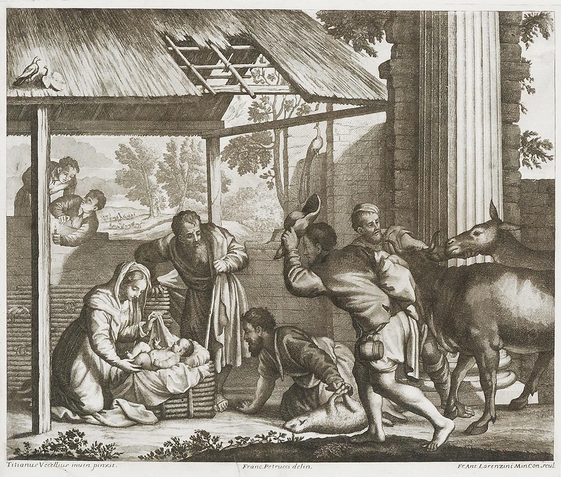 Pokłon pasterzy, 2 poł. XVII w.