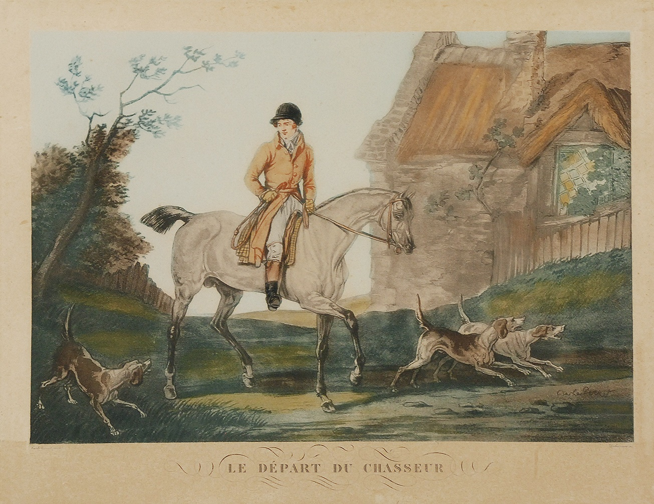 Philibert Louis DEBUCOURT (1755-1832), Carle VERNET (1758-1836)