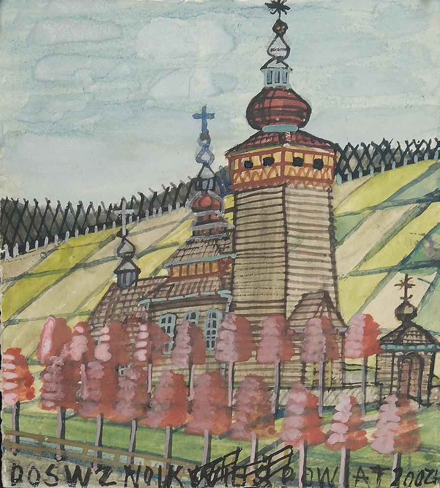 Kościółek wśród pól
