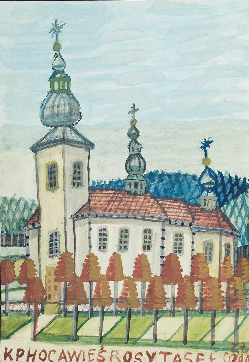 Biały kościół
