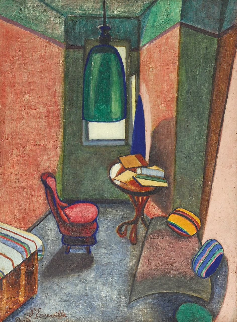 Wnętrze pokoju, 1921