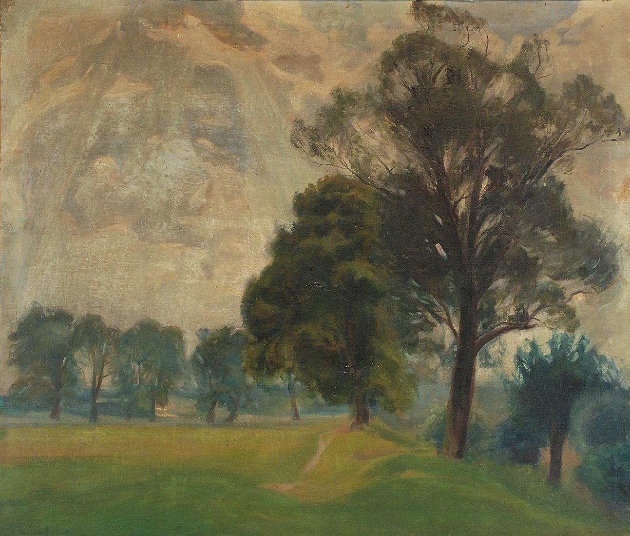 Pejzaż, 1920