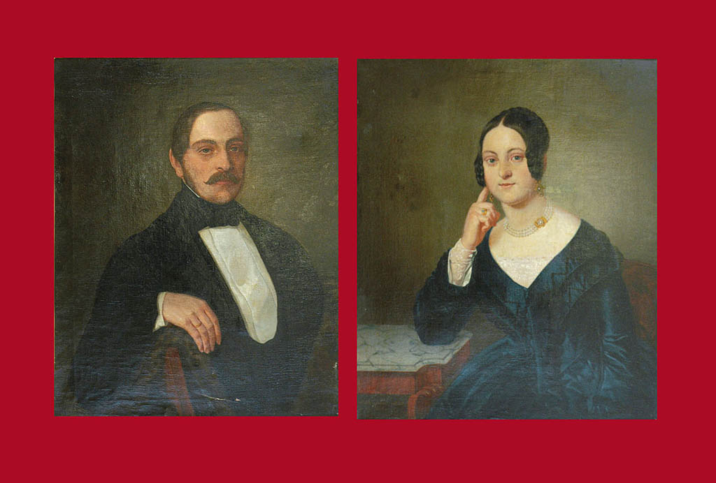 Para portretów: Julian i Wanda Chróściechowscy