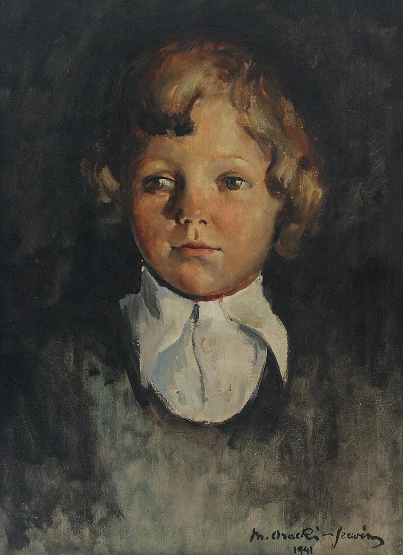 Portret chłopczyka, 1941