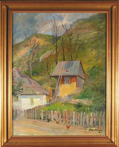 Zagroda przy wzgórzu, 1932 r.