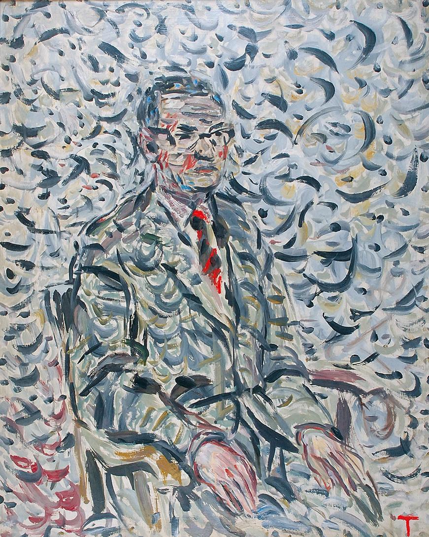 Portret mężczyzny - Portret Karola Zolicha