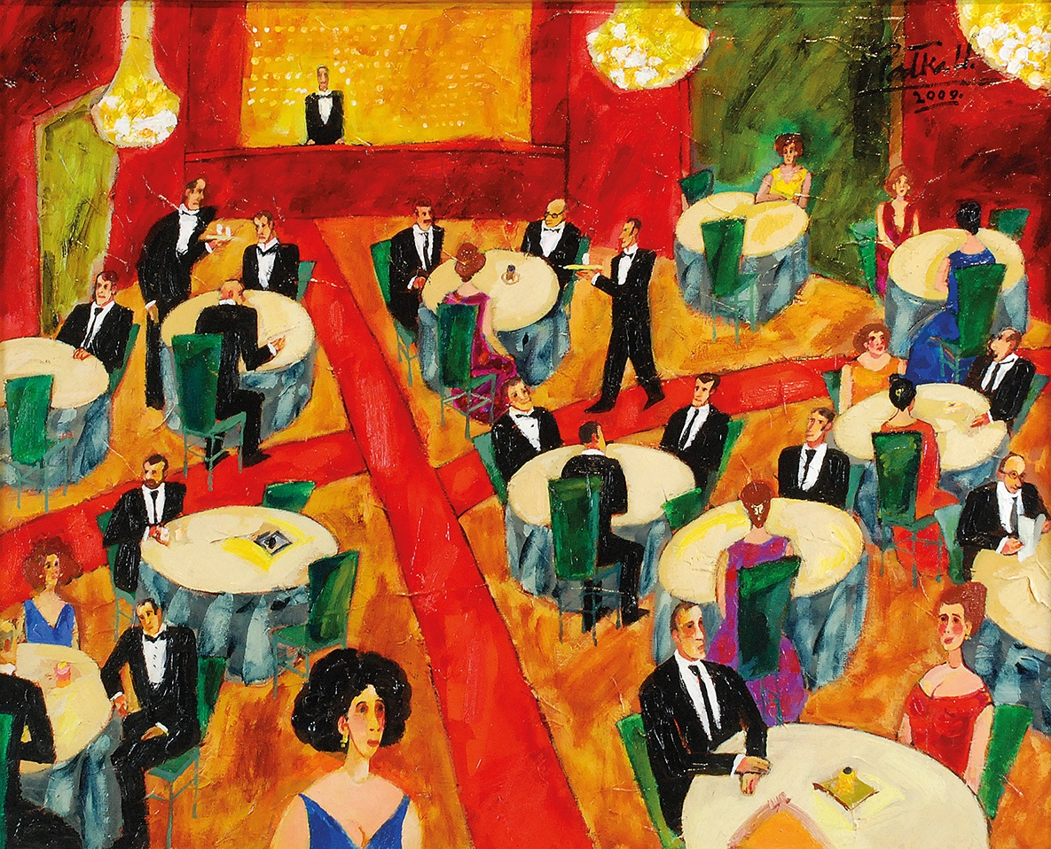 W kawiarni, 2009
