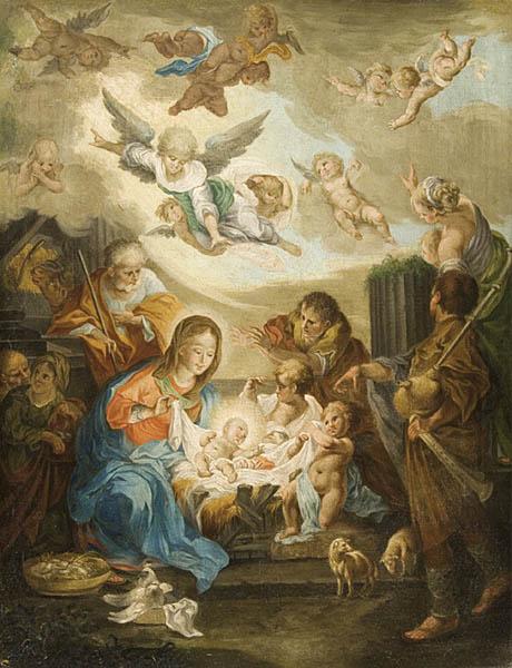 SCENA NARODZENIA PANA JEZUSA