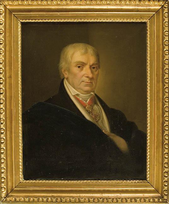 PORTRET MĘŻCZYZNY Z ORDEREM ŚW. STANISŁAWA, 1829