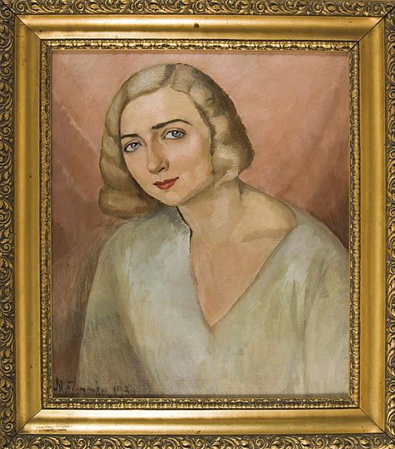 PORTRET KOBIETY, 1930