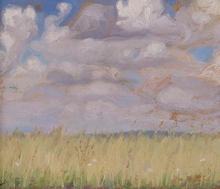 PEJZAŻ Z ŁANAMI, 1919