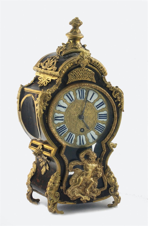 Zegar kominkowy, w typie Boulle'a